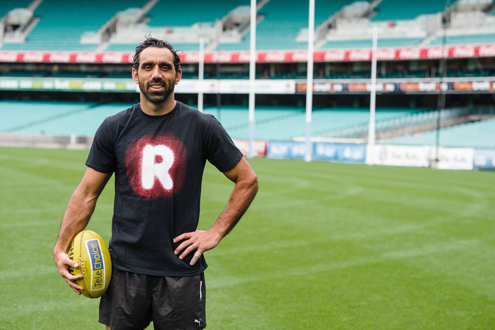 Adam Goodes Australian of the Year 2014