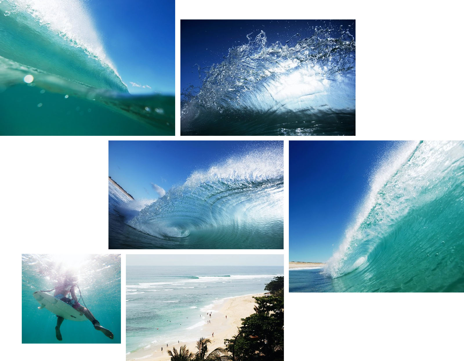 Aquatech housing surf photography