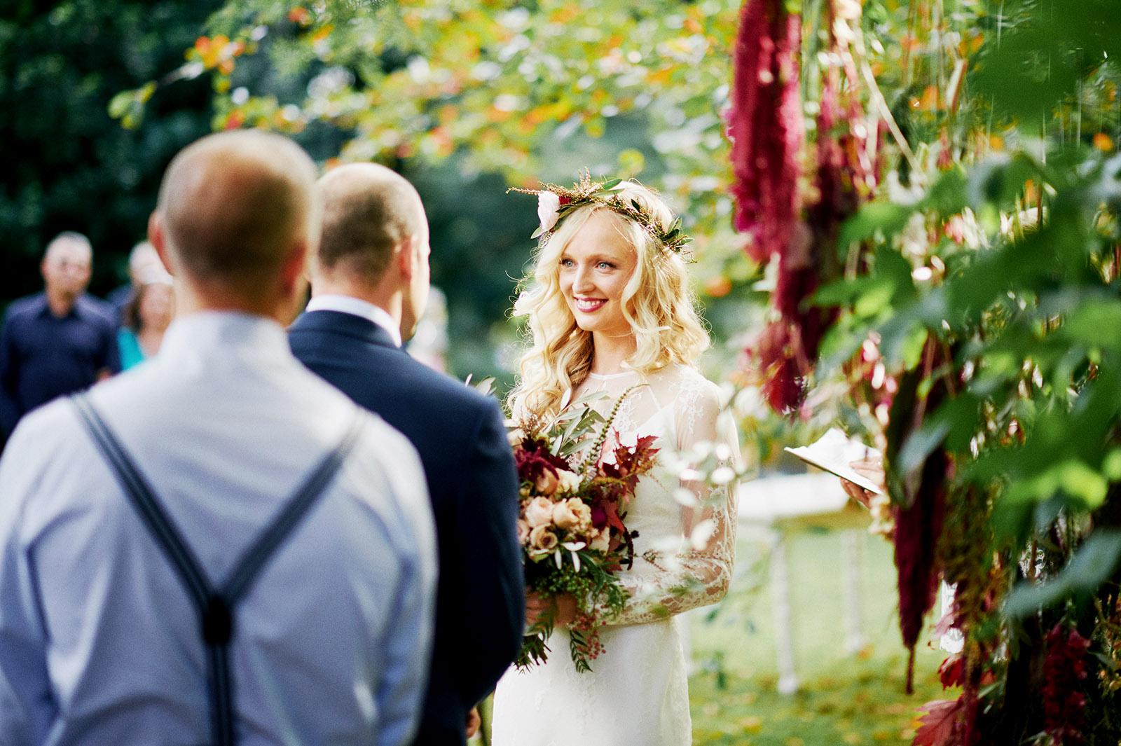 Newcastle Private Garden Wedding Photography